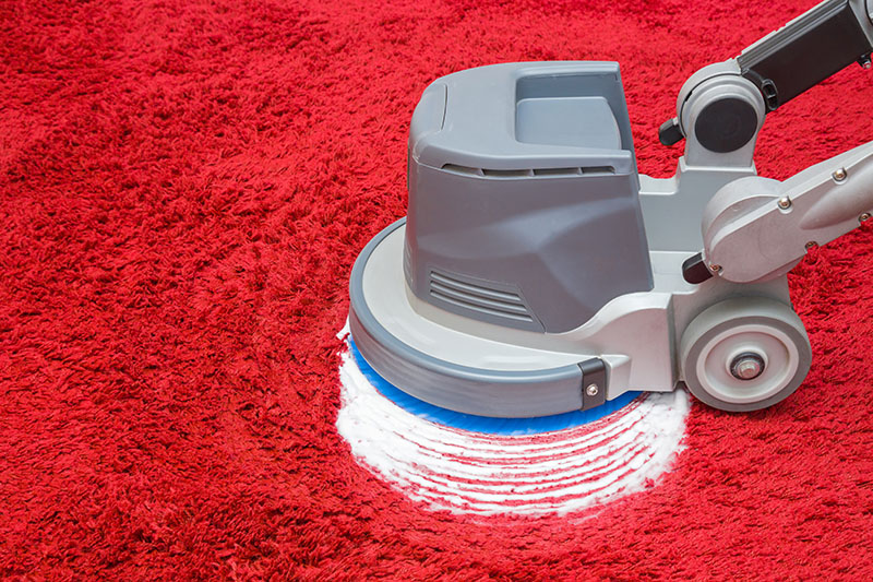 Bonneting and Encapsulation for Carpet Cleaning