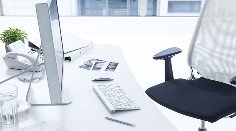 Clean and Tidy Office Desk