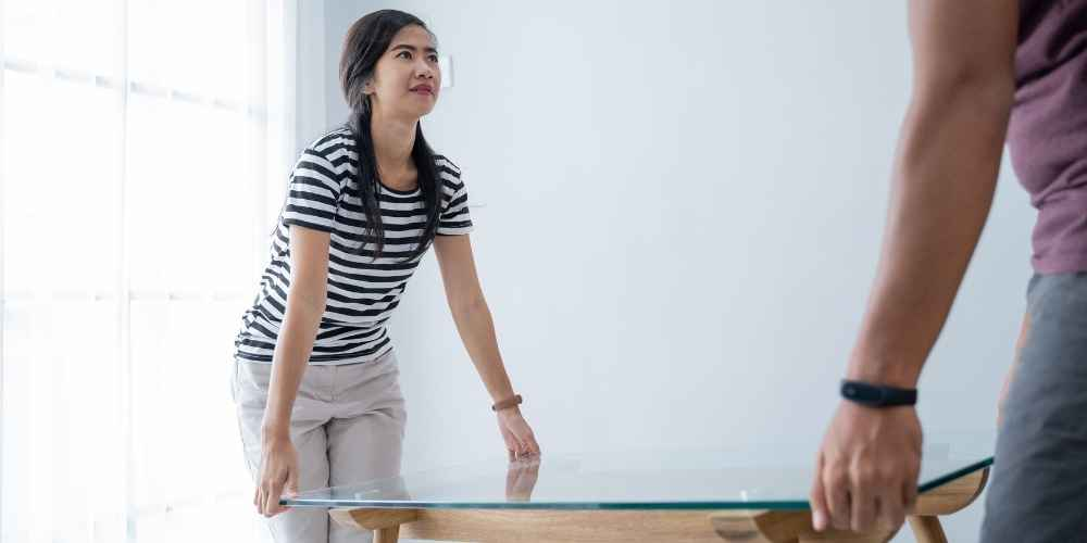 Clear Furniture to Clean Carpet